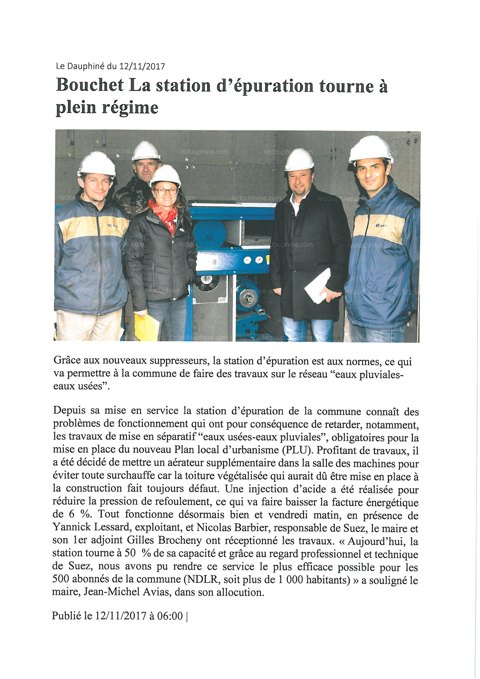 article station puration plein rgime